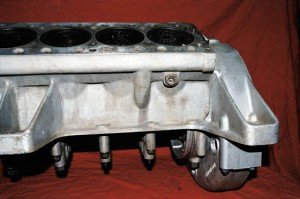 Repaired Ferrari 330 Aluminum Engine Block