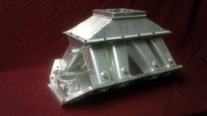 For sale Dart Big Chief Tall Deck 4 Barrel Sheet Metal Intake Manifold