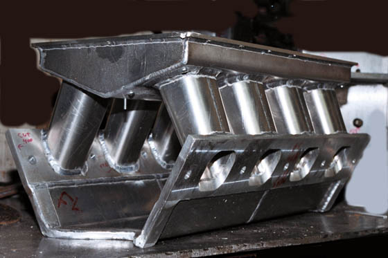 1996 Ford Pro Stock Sheet Metal Intake Manifold