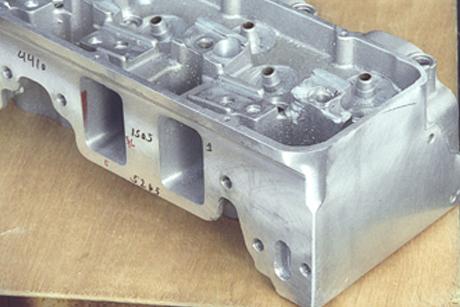 aluminum cylinder head welding