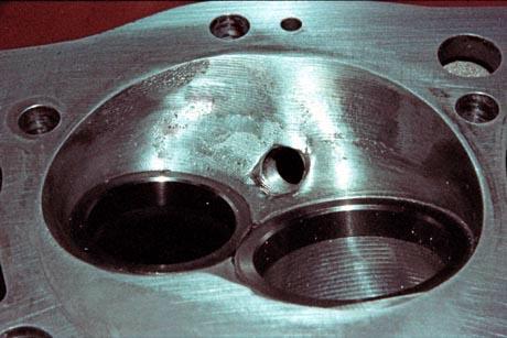 Aluminum Weld Repair B.M.F.385 Aluminum Cylinder Head Repair