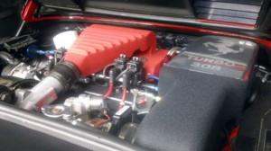 Ferrari 308 E.F.I.Turbocharger System