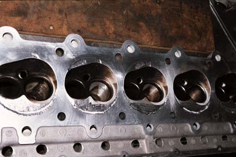 Broken Damaged Supercharged  Dodge Viper Cylinder Head
