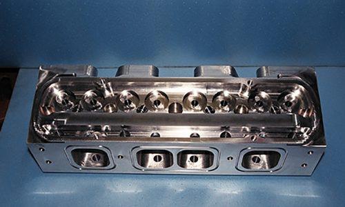 Billet cylinder head manufacture