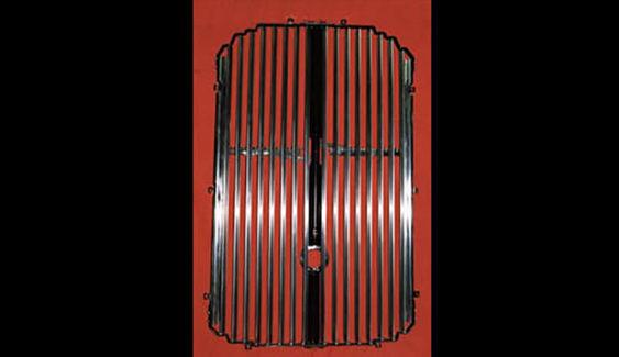 Franklin shutter grill — antique vintage automobile, car component part builder